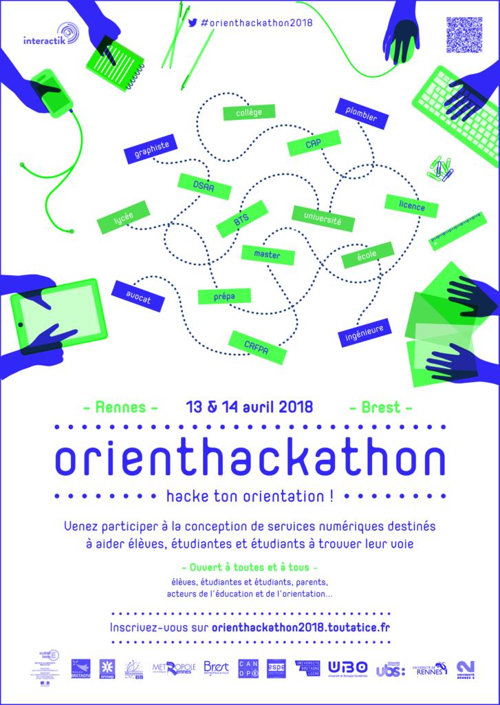 Affiche Orienthackhaton 2018