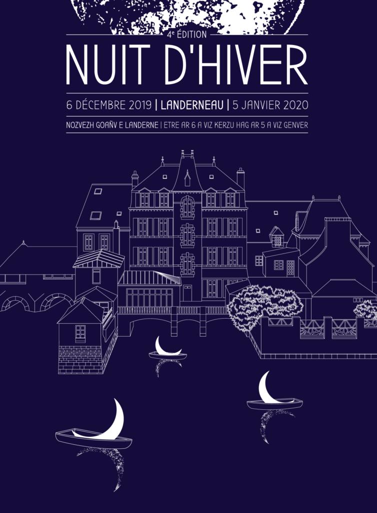Affiche Nuit d'Hiver 2019 Landerneau